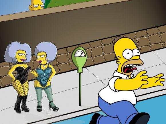 Imagenes Graciosas de los Simpson